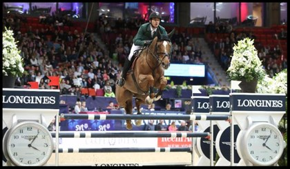 Reigning World Cup champion Steve Guerdat and Albfuehren's Paille - © FEI/Roland Thunholm