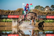 Rohan Luxmoore and Bells N Whistles, third after the cross country in the CCI3* - © Geoff McLean/Gone Riding Media