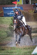 Samantha Felton from NZ on Ricker Ridge Pico Boo came runner up in the CCI3* © Michelle Terlato