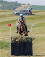 Samantha Seaton and Rowbury Spree on course in the CIC2* - © William Carey