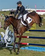 Sammi Birch and Hunter Valley II in the CIC3* - © William Carey