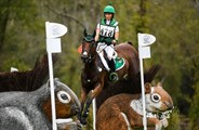 Sarah Ennis of Ireland on Horseware Stellor Rebound in for a bronze medal in Eventing at the FEI World Equestrian Games ©FEI/Martin Dokoupil