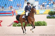 Scott Keach and Fedor jumped clear to finish in 44th place - © Michelle Terlato