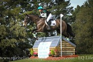 Shanae Lowings on Venture Sky High in the CCI2* © Michelle Terlato