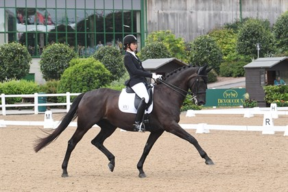Soraya Rogers and Evita I at Hartpury's Festival of Dressage © Kevin Sparrow Photography