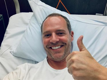 Spencer Wilton in hospital