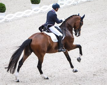 Steffen Peters and Suppenkasper in the CDIO5* GP