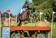 Stephanie Ivanovic and Mighty Tosca in the Junior CCI1* - © Geoff McLean/Gone Riding Media