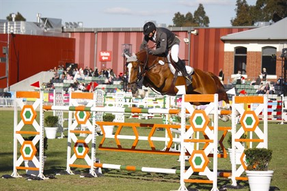 Stuart Jenkins and Fairview Aliquidam finished in second place - © Adele Severs/ EQ Life
