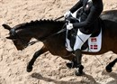 Susanne Jensby Sunesen of Denmark on CSK's Que Faire - © FEI