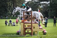 Tayah Andrew on Silver Force for team AUS in the CCI2* © Michelle Terlato