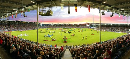 The Main Stadium of CHIO Aachen. © Rolex Grand Slam of Show Jumping/Andreas Steindl