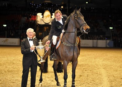 The Tim Stockdale Foundation has been chosen as its official charity for Olympia © British Showjumping