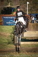 Tim Boland and GV Billy Elliot land the final water complex in the CCI3* © Michelle Terlato