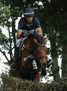 Tim Price in action at Tattersalls. © Lorraine O'Sullivan/Tattersalls International Horse Trials