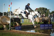 Toni Shave on Darwin Park Snowfall in the CCI1* water complex © Michelle Terlato