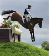 US rider William Coleman and Off The Record - © Lorraine O'Sullivan/Tattersalls International Horse Trials