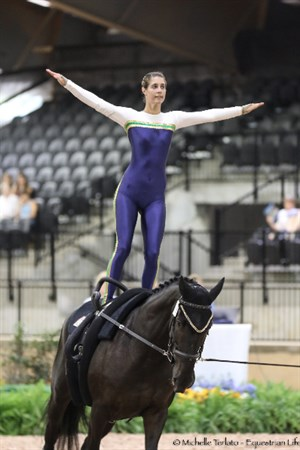 Vaulter Ruth Skrzypek on Darkly Dreaming - © Michelle Terlato