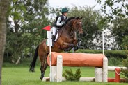 Versace Biscuit and Chloe Fagan in the Horseware CCIJ2*-L - © Lorraine O'Sullivan/Tattersalls International Horse Trials