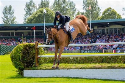 William Funnell and Billy Buckingham finished sixth in the 2017 Al Shira'aa Derby at Hickstead.  © Craig Payne