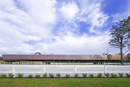 Willinga Park's outdoor arena. Photo: Willinga Park